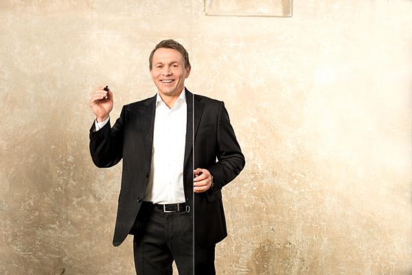 Lutz Pickhardt: Business Training. Portrait. Fotograf: Guido Alfs.